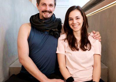 Sarah Jasmin Iranpour & Kai Treude